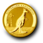 Kangaroo Goldmünze